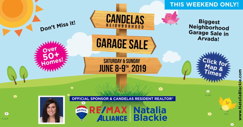 Candelas Community Garage Sale | Natalia Blackie, REALTOR